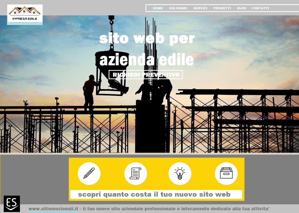 Realizzazione siti web Milano per imprese edili