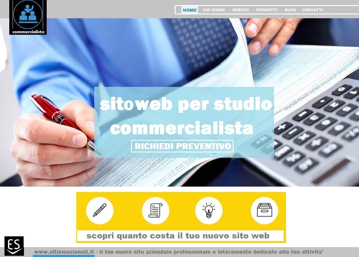 Realizzazione siti web Milano per studi commercialisti
