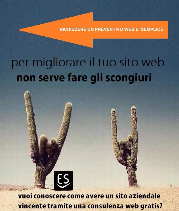 richiesta preventivo sito web Milano