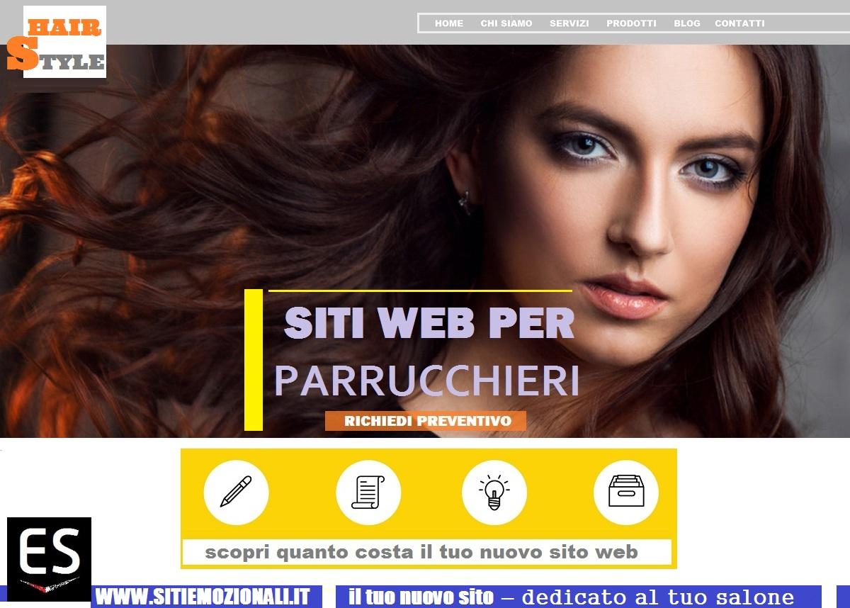 Realizzazione siti web per parrucchieri milano